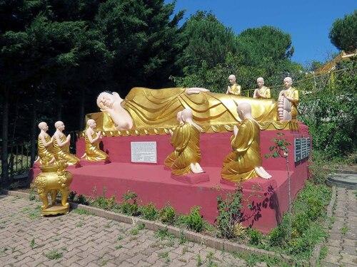 Le temple boudhiste