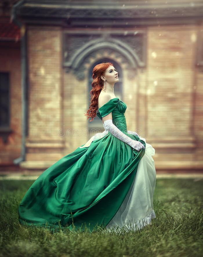 Elégantes dames médiévales