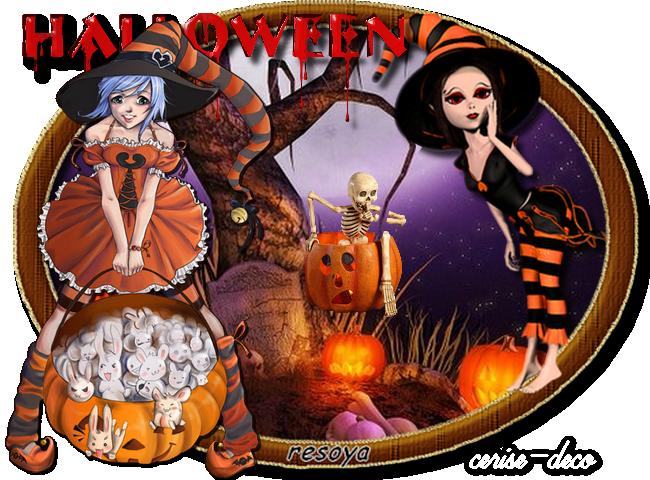 gif halloween pour le défi de resoya