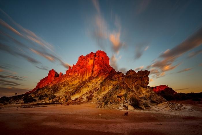 Elle A Décidé De Tout Plaquer Pour Photograhier...  Les Paysages Les Plus Reculés D'Australie..