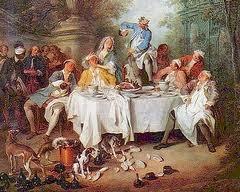 La vie au quotidien au 18ème siècle La gastronomie nouvel art de vivre !