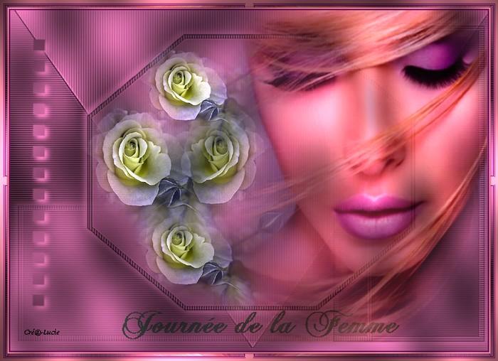 """Aujourd'hui 8 mars 2012 """" Journée de la Femme """""""