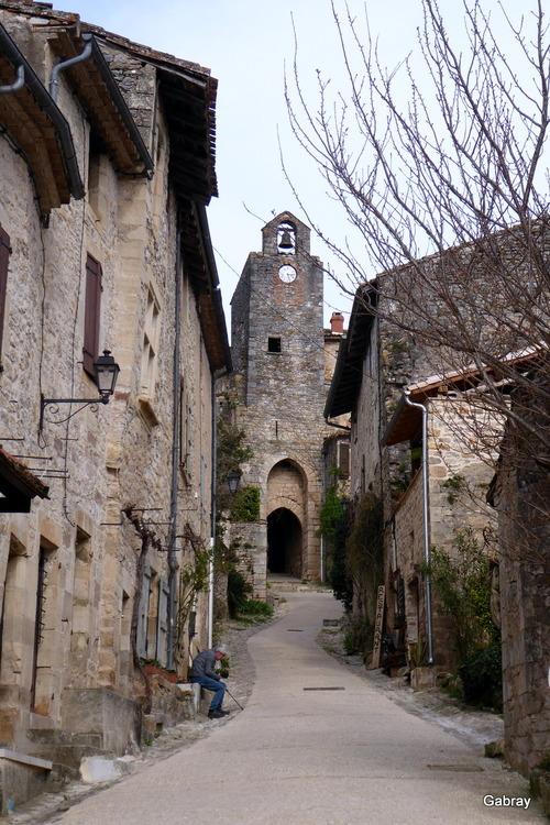 Bruniquel: village, église, ...