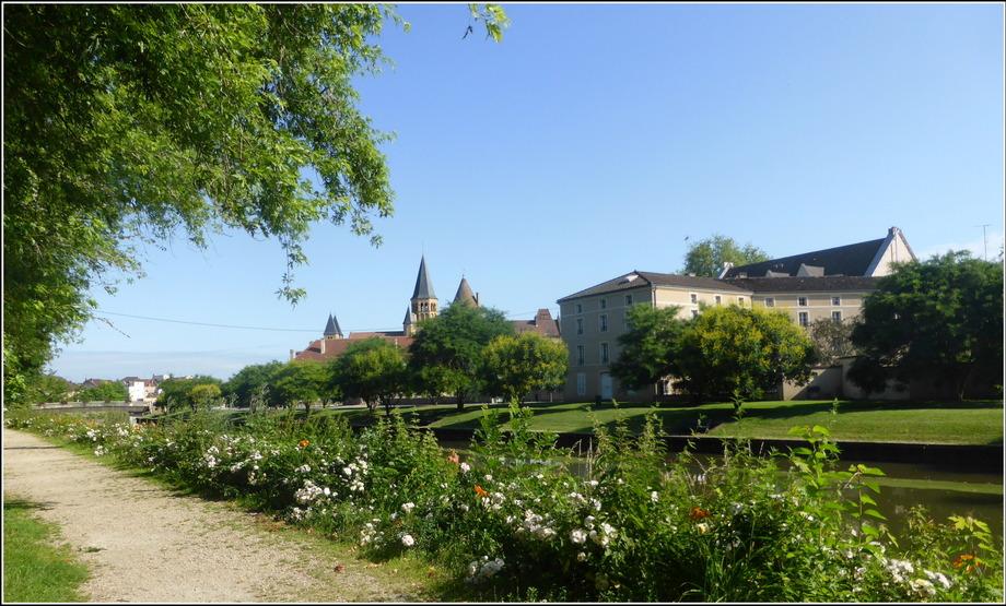 En visite à Paray-le-Monial....