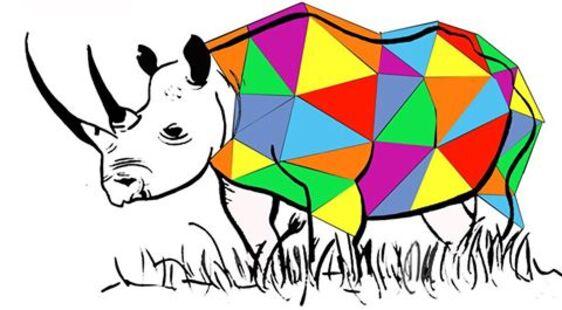 Des rhinocéros bigarrés