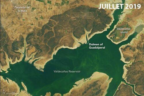 Disparu depuis 50 ans, il refait surface à cause de la sécheresse