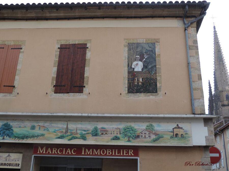Marciac dans le Gers (32)