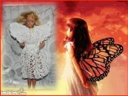 mon défi pour le défilé robe aérienne papillon 2017