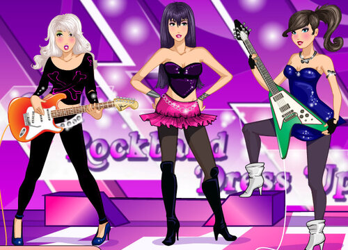 les girly groupe de rock