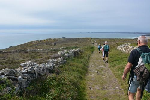 Finistère -  du cap de la chèvre à Kerdreux