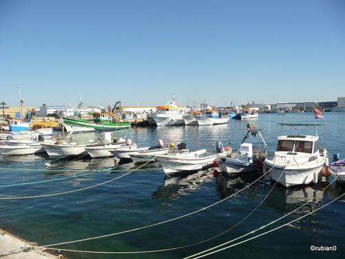 Le port d'Olhaó