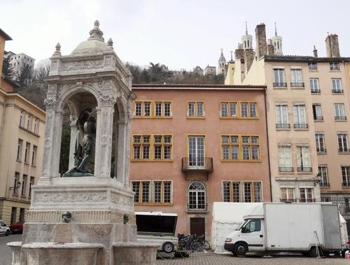 Lyon, autour de la cathédrale Zaint Zean (photos)