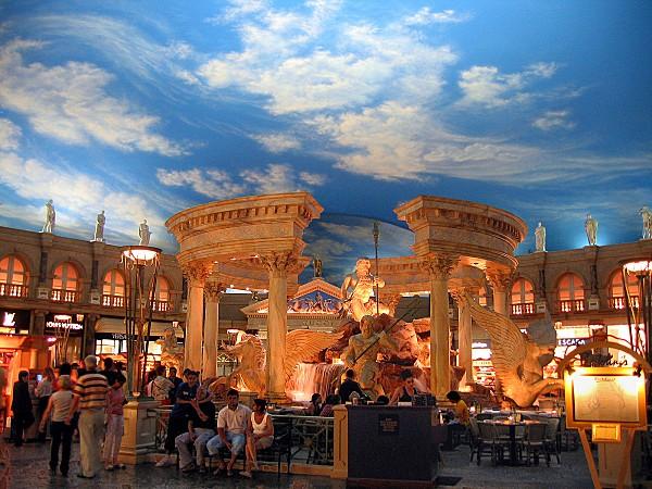 Las Vegas Caesars Palace intérieur 2