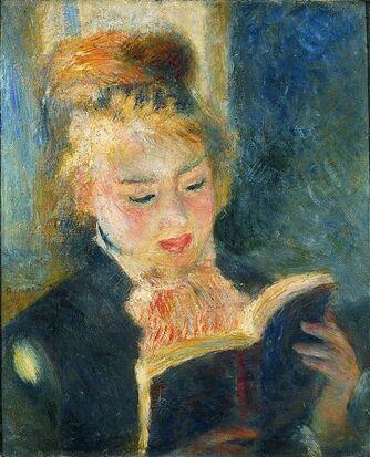 La Liseuse, Pierre Auguste Renoir, 1874, Musée d'Orsay, Paris