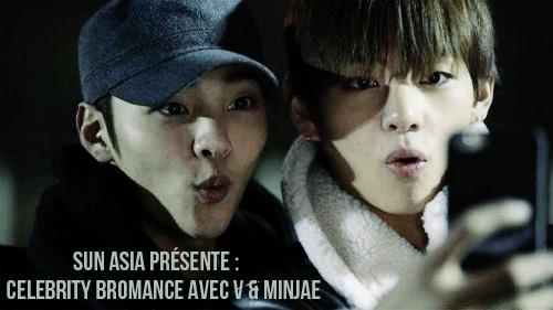 [Projet terminé] Celebrity Bromance avec V de BTS et Kim Minjae