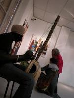 """Babacar Touré, Artiste """" Bambara """" aux couleurs de l'Afrique"""