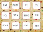 jeu de tri lettres/mots/phrases/autres