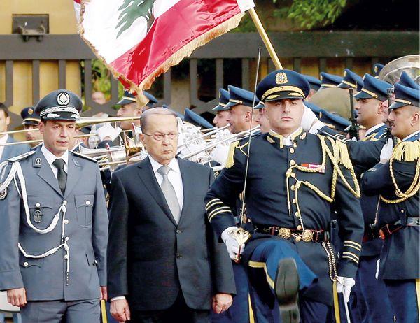 Michel Aoun à Baabda. Les défis d'un mandat