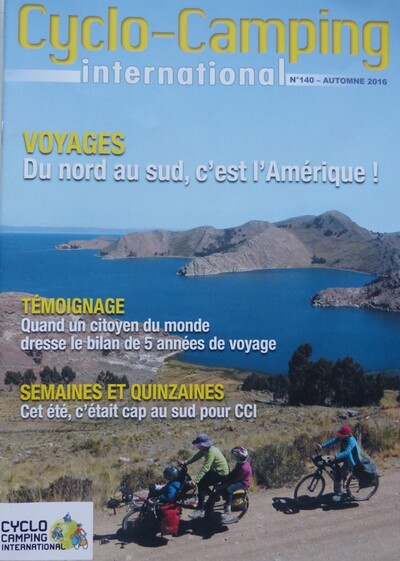 Cyclo-Camping International # 140 (automne 2016)