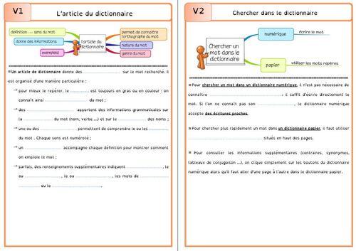 mon nouveau fichier de leçons de français