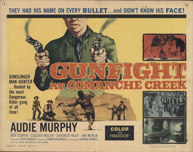 GUNFIGHT AT COMANCHE CREEK BOX OFFICE 1963