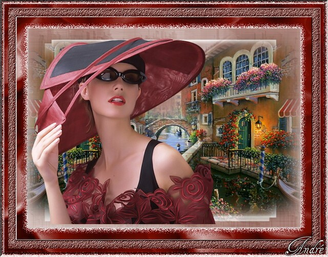 FAC0021 - Tube femme chapeau