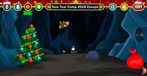 Jouer à New Year camp 2018 escape