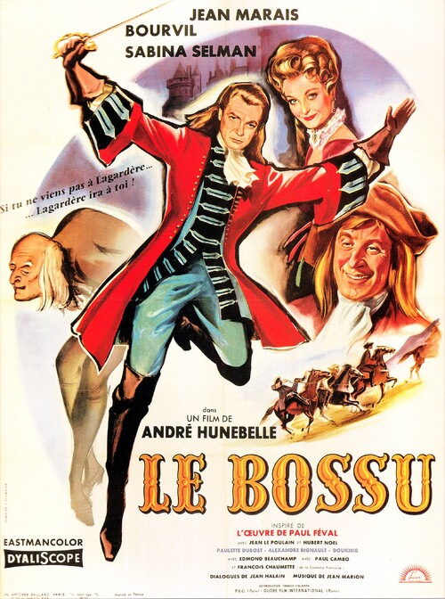 LE BOSSU - JEAN MARAIS BOX OFFICE 1960