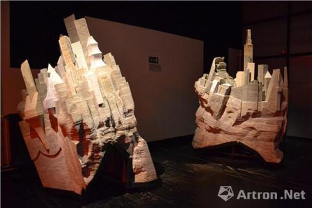 bergen, kustenaars, stadt,刘韡 ,图书馆,,Chine ardente, exposition, scultures d' art, contemporaines, artist,2015,be , Mons ,