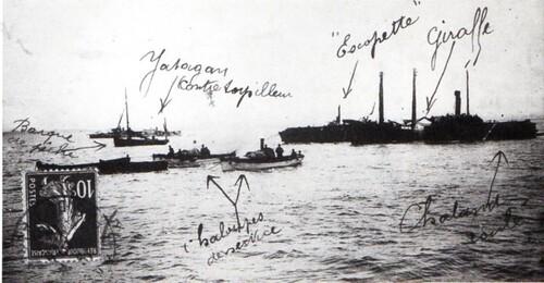 Correspondance d'un jeune sauveteur à sa famille