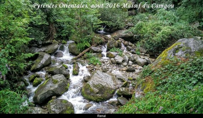 Pyrénées Orientales aout 2016