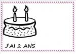 Les anniversaires