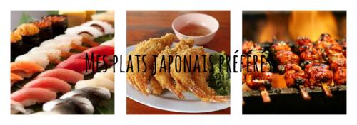 Mes préférences | quelques plats japonais