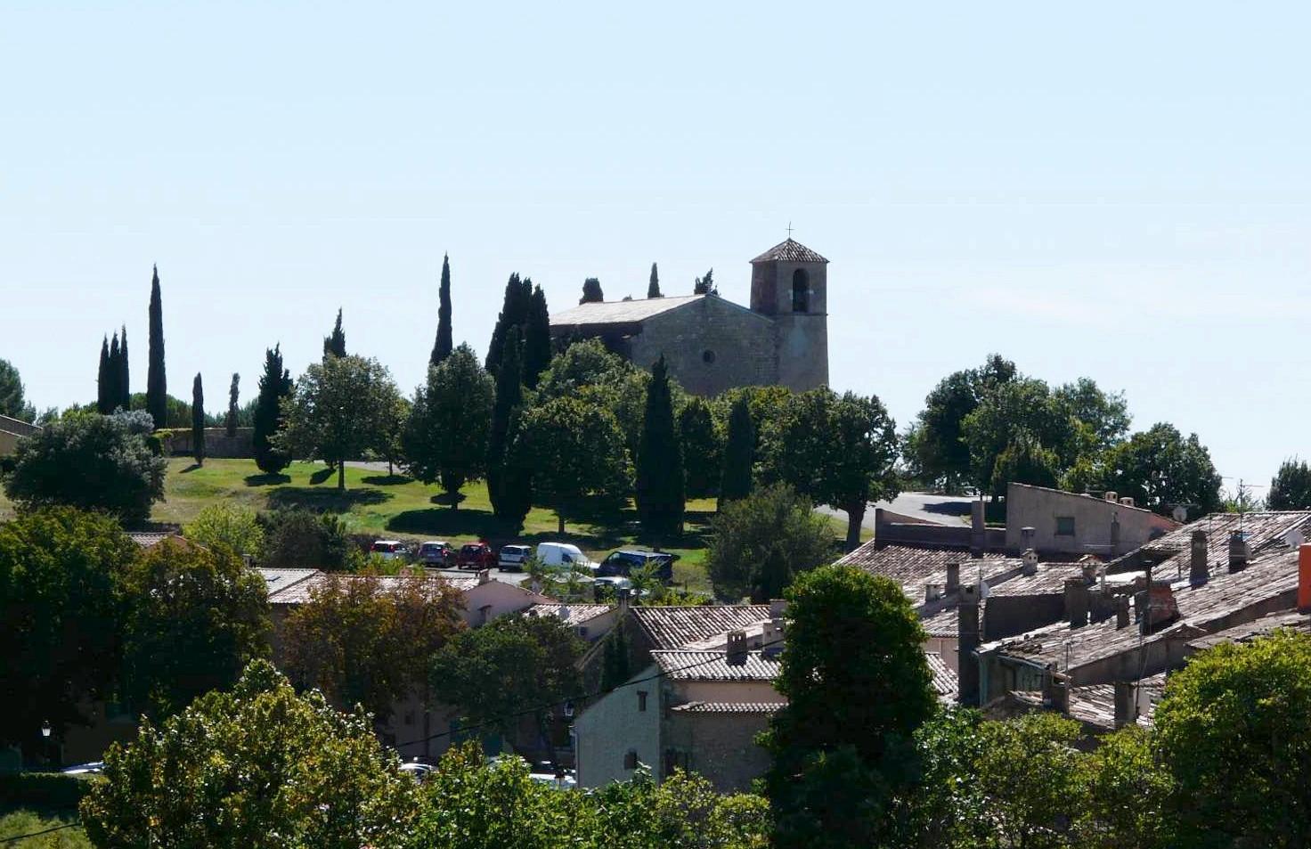 Un village dans le ciel : Tourtour