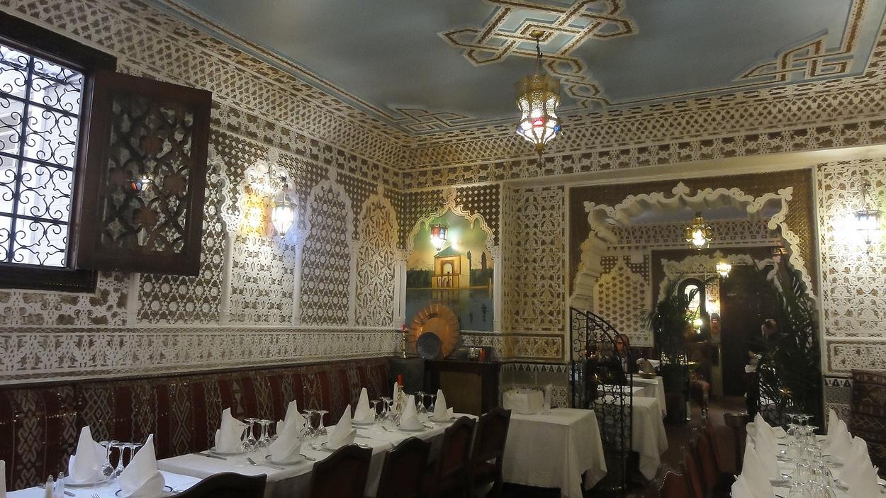 Je suis allée à Marrakech