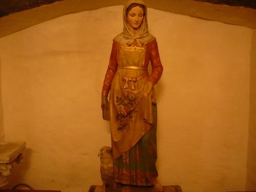 Nouvelle statue offerte à l'église de Catus
