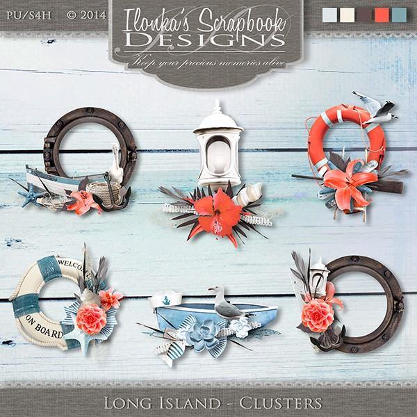 Long Island by Ilonka Scrapbook Designs