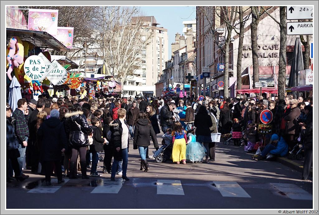 carnaval à Chalon sur Saône