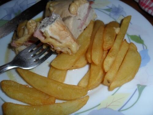 *** Filets de poulet roulés au jambon et au fromage ***