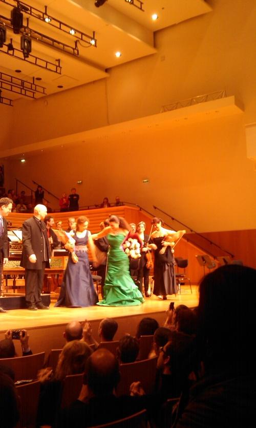 Ze suis allée à la Salle Pleyel voir La Bartoli