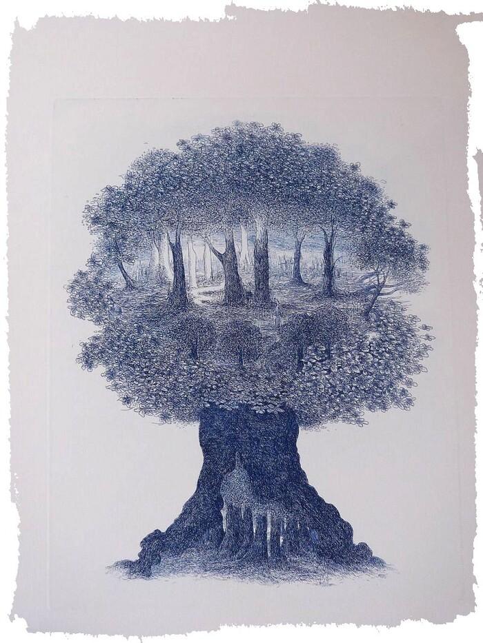 un arbre est une maison---quand un arbre tombe, pour moi c'est une maison qui s'écroule et cela ébranle aussi mes fondations...
