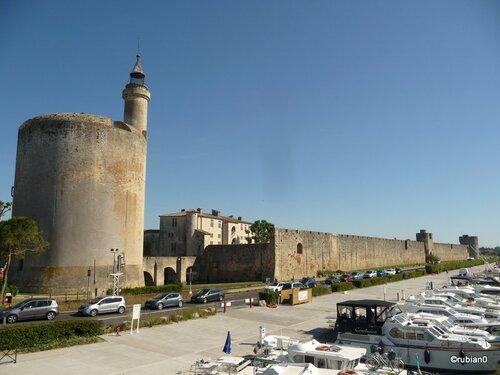 La tour de Constance d'Aigues Mortes