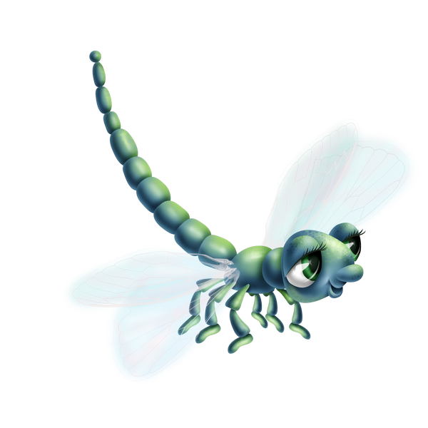 "Défi 85: ""Les libellules"""