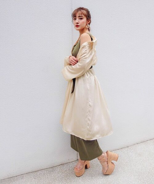 [PIMMY] - Robe plissée - 10 584¥