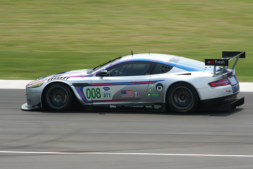 Team Bell Motorsports Aston Martin DBR9