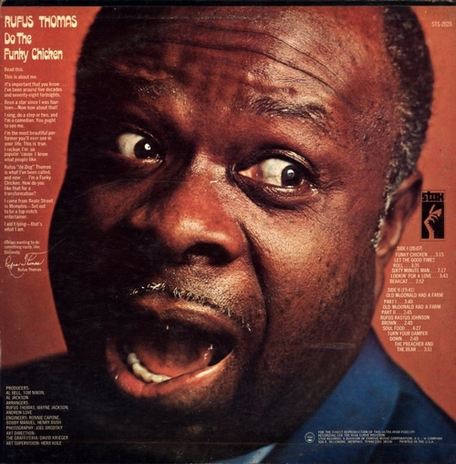 "Rufus Thomas : Album "" Do The Funky Chicken "" Stax ‎Records STS-2028 [ US ]"
