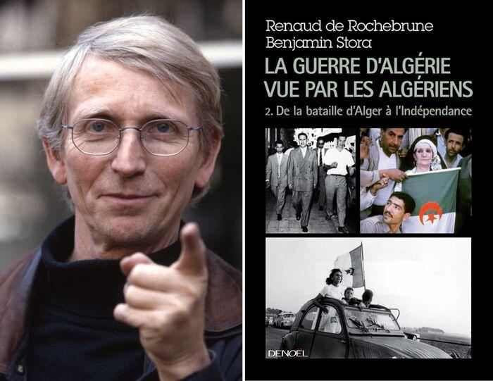 """""""La guerre d'Algérie, c'était plus   de 100 morts Algériens par jour   pendant 7 ans et demi"""" (R. de Rochebrune)"""
