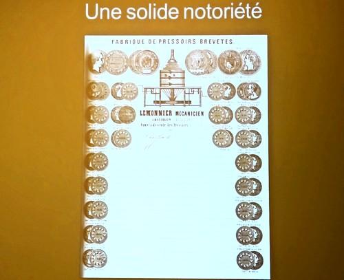 Une très intéressante conférence sur les pressoirs anciens du Châtillonnais, par Anne Bouhélier