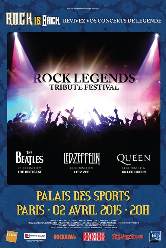 Rock Legends Tribute Festival
