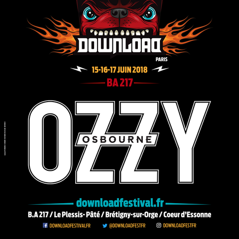 OZZY OSBOURNE au Download France 2018